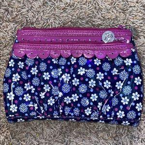 Vera Bradley 2 pocket clutch